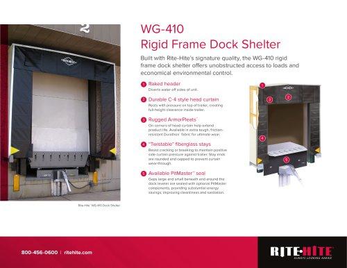 WG-410: Rigid Frame Dock Shelter