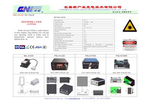 635 nm Red Diode Laser