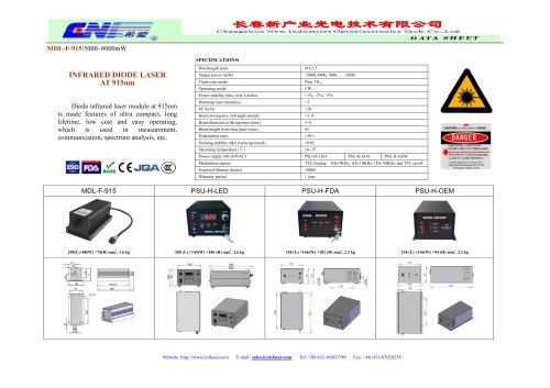 CNI/Diode infrared laser module /MDL-F-915