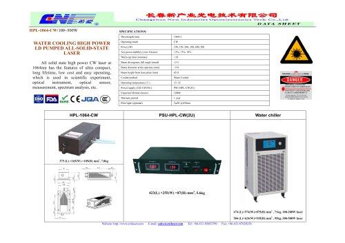HPL-1064-CW infrared laser