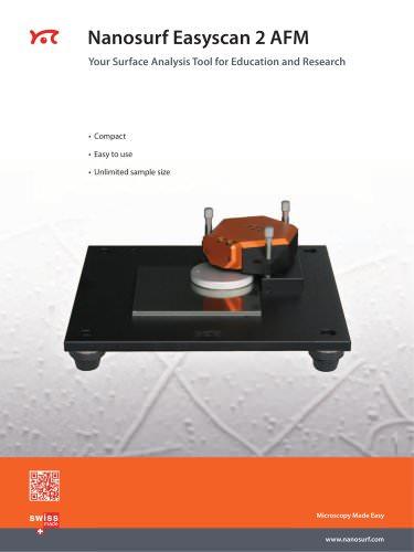 Nanosurf Easyscan 2 AFM