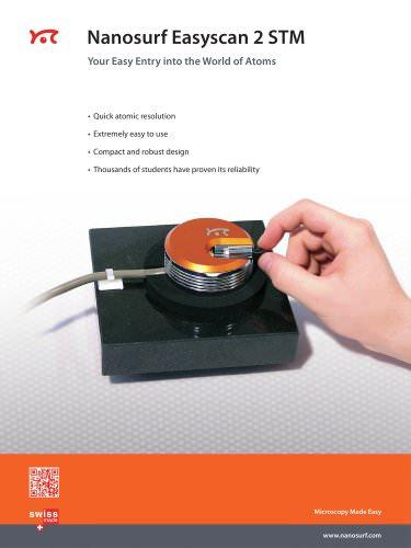 Nanosurf Easyscan 2 STM