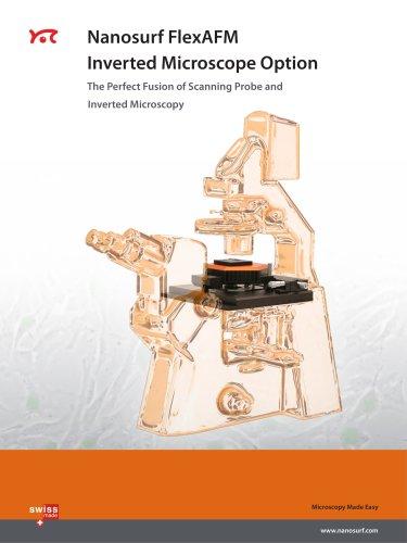 Nanosurf FlexAFM Inverted Microscope Option