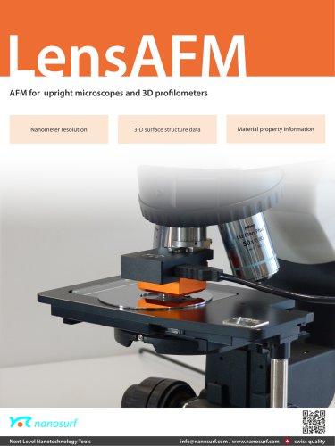 Nanosurf LensAFM