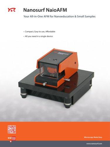 Nanosurf NaioSTM scanning tunneling microscope for nanoeducation
