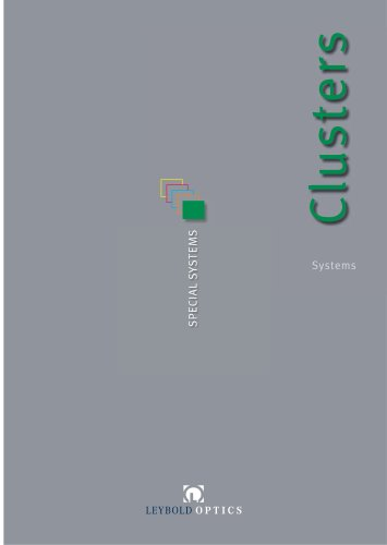 Cluster Systems Brochure