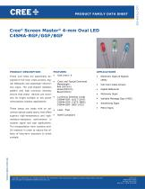 4-mm Oval LED Lamps C4SMA - 1
