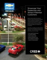 Application Guide : Auto Dealership Lighting - Unmatched Lighting Performance and Quality With No Compromise - 3