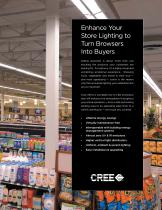 Application Guide : Grocery Store Lighting - The Power to Turn Lighting into Bottom-Line Savings - 3