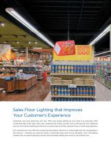 Application Guide : Grocery Store Lighting - The Power to Turn Lighting into Bottom-Line Savings - 4
