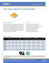 Cree® J Series™ 5050 6-V, 9‑V, 24‑V & 36‑V LEDs - 1