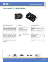 Cree® LMD125 LED Module Drivers - 1