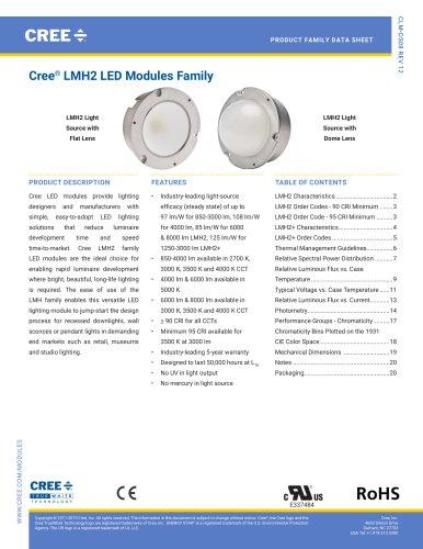 Cree® LMH2 LED Modules Family