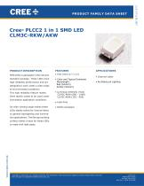 Cree® PLCC2 1 in 1 SMD LED CLM3C-RKW/AKW - 1