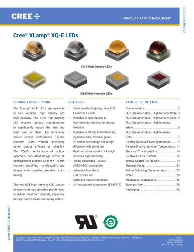 Cree® XLamp® XQ-E LEDs