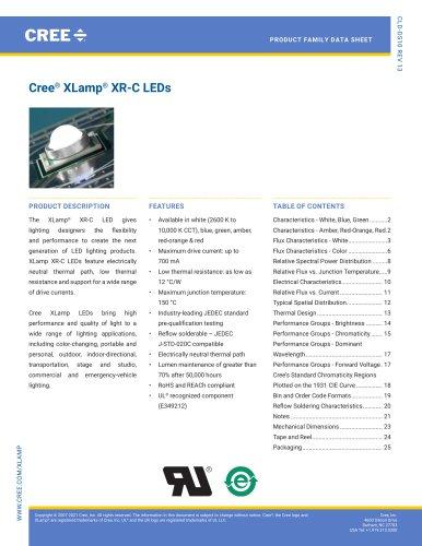 Cree® XLamp® XR-C LEDs