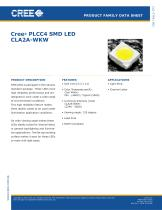 SMD White Series White Face CLA2A - 1