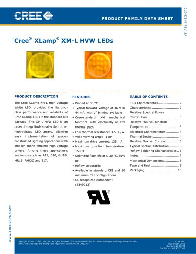 XM-L High-Voltage White