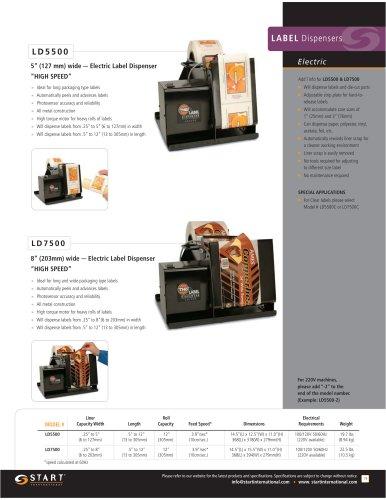 LABEL Dispensers LD 5500 / 7500