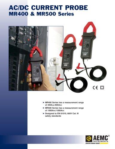AC/DC Current Probe MR400 & MR500 Series