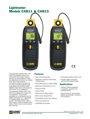 CA813 Lightmeters