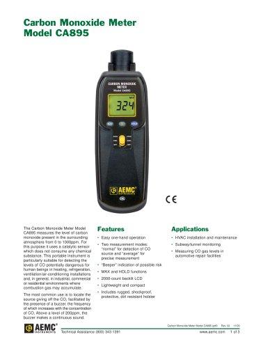 CA895 Carbon Monoxide Meters