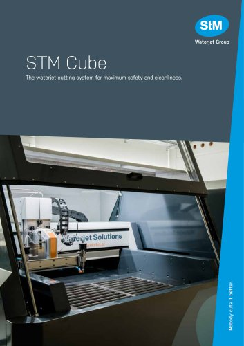 STM Cube - Waterjet Solutions
