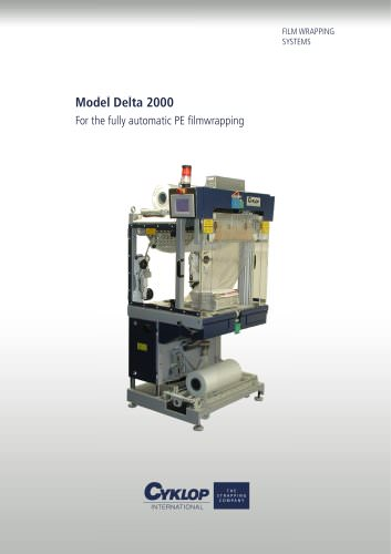 """Automatic high-performance film wrapper """"Delta 2000"""""""