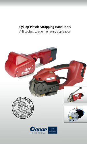 Cyklop Plastic Strapping Hand Tools