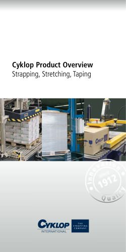 Cyklop Product Overview