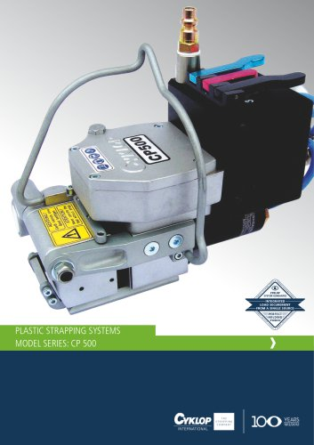 PLASTIC STRAPPING SYSTEMS MODEL Series: CP 500