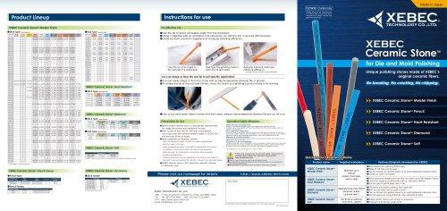XEBEC Ceramic Stone™ Meister Finish, Heat-Resistant, Diamond, Soft, Pencil