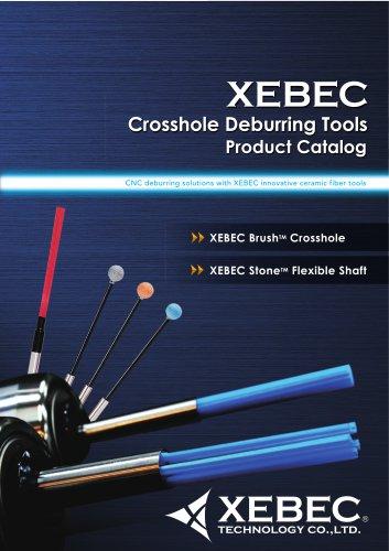 XEBEC Crosshole Deburring Tools, XEBEC Brush™ Crosshole, Stone™ Flexible Shaft