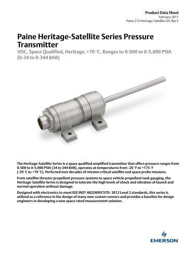 213 Heritage Series Pressure Transmitter
