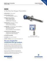 6888 In Situ Flue Gas Oxygen Transmitter