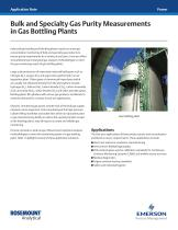Bulk and Specialty Gas Purity Measurements in Gas Bottling Plants - 1