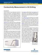 Conductivity Measurement in Oil Drilling - 1