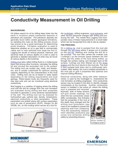 Conductivity Measurement in Oil Drilling
