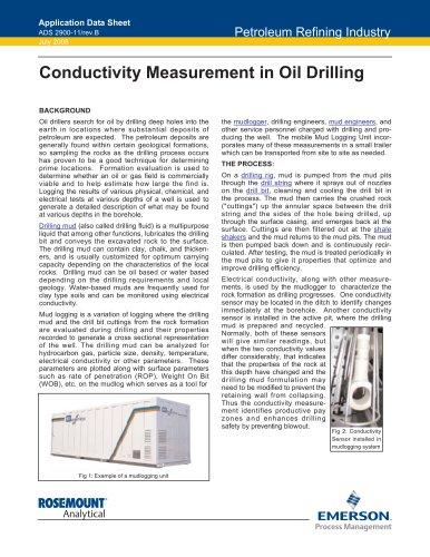 Conductivity Measurement in Oil Drilling