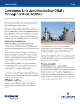 Continuous Emissions Monitoring (CEMS) for Cogeneration Facilities - 1