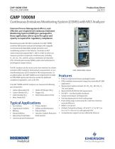 Continuous Emissions Monitoring System (CEMS) with MLT Analyzer - 1