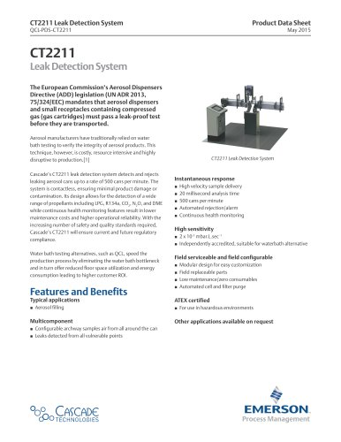 CT2211  Leak Detection System