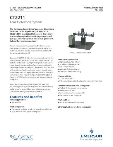CT2211  Leak Detection System