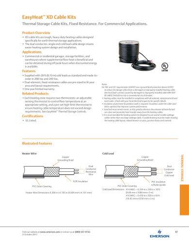 EasyHeat™ XD Cable Kits