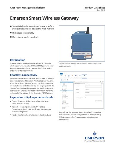 Emerson Smart Wireless Gateway