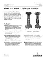 Fisher 657 and 667 Diaphragm Actuators - 1