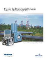 Gas Chromatograph Solutions For Natural Gas Transmission Applications