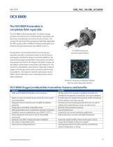 HART standard or OCX 8800 Oxygen/Combustibles Transmitter - 3