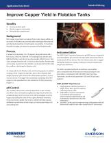 Improve Copper Yield in Flotation - 1