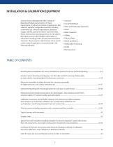Installation & Calibration Equipment - 2